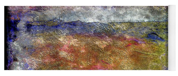 10c Abstract Expressionism Digital Painting Yoga Mat