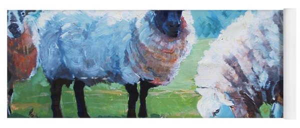 Sheep Yoga Mat