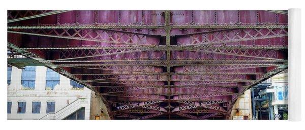 1136 Under The Dearborn Street Bridge Yoga Mat