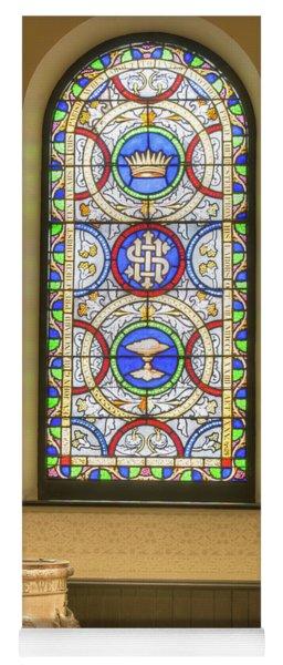 Saint Anne's Windows Yoga Mat