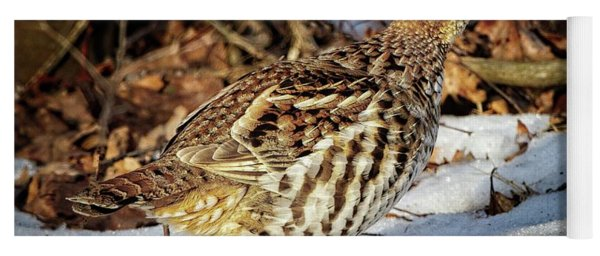 Ruffed Grouse Yoga Mat