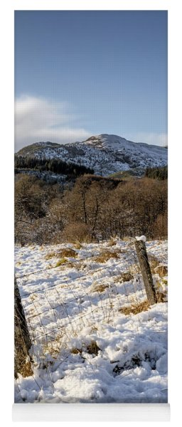 Trossachs Scenery In Scotland Yoga Mat