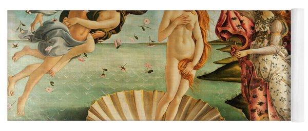 The Birth Of Venus Yoga Mat