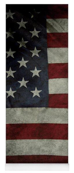 American Flag Yoga Mat