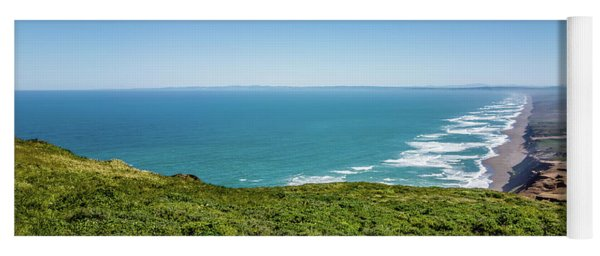 Yoga Mat featuring the photograph Point Reyes National Seashore Landscapes In California  by Alex Grichenko