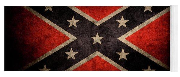 Confederate Flag 7 Yoga Mat
