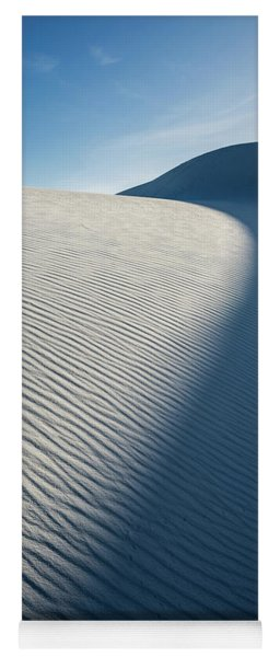 The Unique And Beautiful White Sands National Monument In New Mexico. Yoga Mat