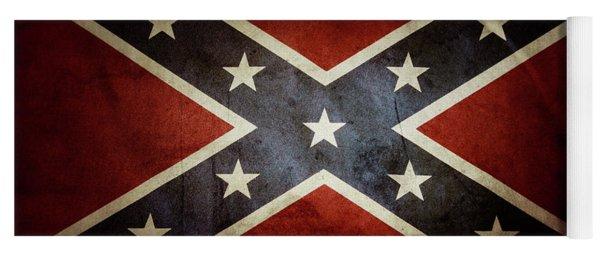 Confederate Flag 12 Yoga Mat