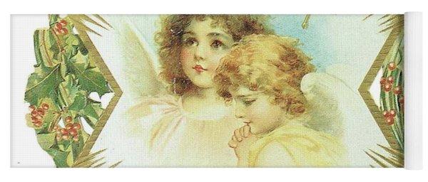1904 Angels Calendar Yoga Mat