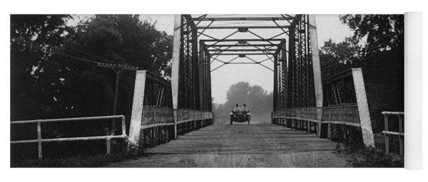 1915 Hudson Road Bridge Yoga Mat