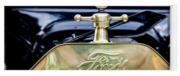 1916 Ford Model T Touring Tin Lizzie Yoga Mat