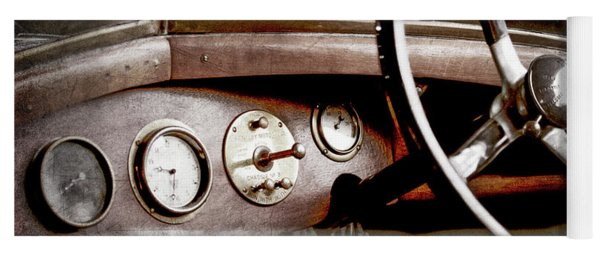 1921 Bentley Steering Wheel -0454ac Yoga Mat