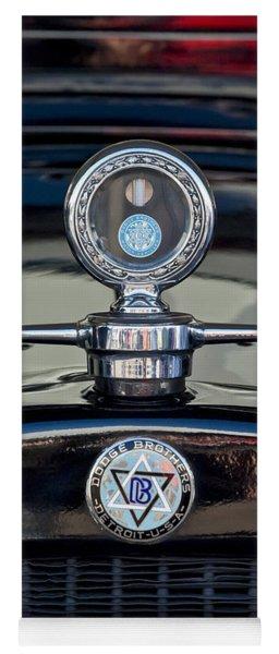 1928 Dodge Brothers Hood Ornament Yoga Mat