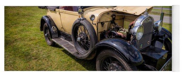 1928 Ford Model A  Yoga Mat