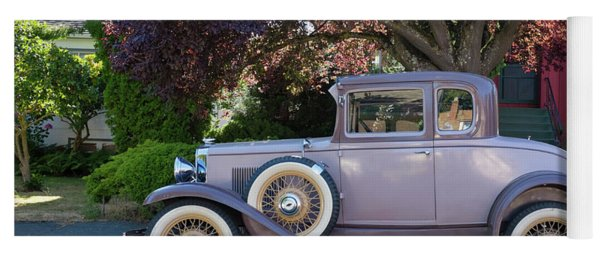 1931 Chevy Coupe Yoga Mat