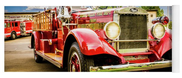 1931 Mack - Heber Valley Fire Dept. Yoga Mat
