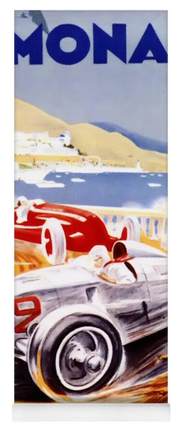 1936 F1 Monaco Grand Prix  Yoga Mat