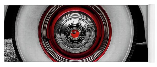 1941 Packard Convertible Wheels Yoga Mat