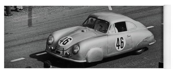 1951 Porsche At Le Mans - Doc Braham - All Rights Reserved Yoga Mat
