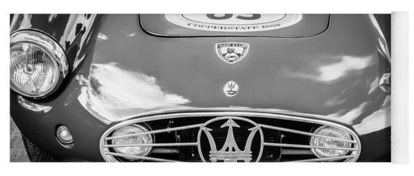 1954 Maserati A6 Gcs -0255bw Yoga Mat