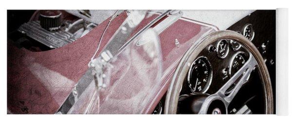 1955 Ac Cobra Steering Wheel - Engine -1043ac Yoga Mat