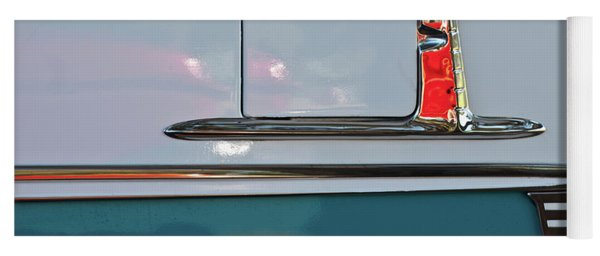1955 Chevy Belair 2 Door Yoga Mat
