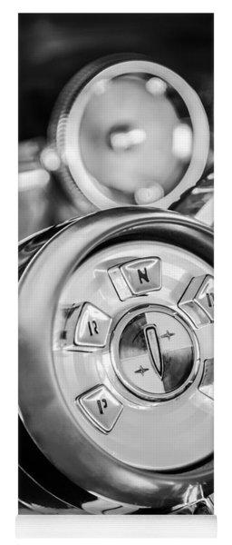 1958 Edsel Ranger Push Button Transmission 2 Yoga Mat