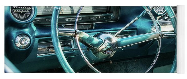 1959 Cadillac Sedan Deville Series 62 Dashboard Yoga Mat