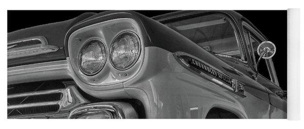 1959 Chevrolet Apache - Bw Yoga Mat