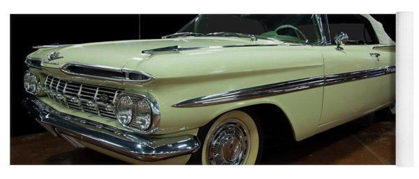 1959 Chevy Impala Convertible Yoga Mat