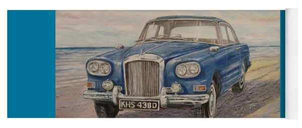1963 Bentley Continental S3 Coupe Yoga Mat