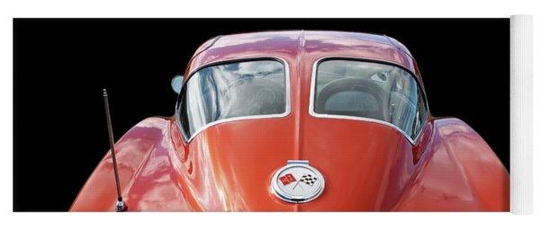 1963 Corvette Stingray Split Window Rear Yoga Mat