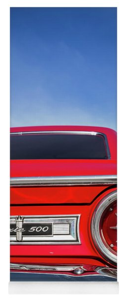 1964 Ford Galaxie 500 Taillight And Emblem Yoga Mat