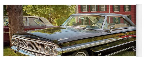 Yoga Mat featuring the photograph 1964 Ford Galaxie 500 Xl by Susan Rissi Tregoning