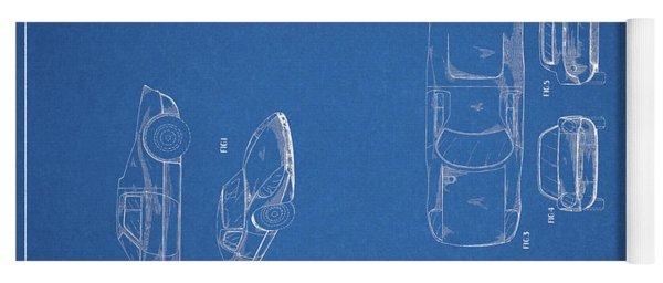 1964 Porsche Body Yoga Mat