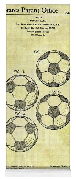 1964 Soccer Ball Patent Yoga Mat