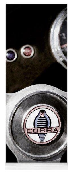 1965 Ac Cobra Steering Wheel Emblem -1733ac Yoga Mat