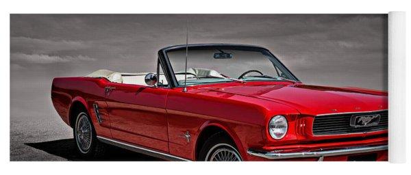 1966 Ford Mustang Convertible Yoga Mat