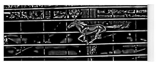1977 Mustang Grill Yoga Mat