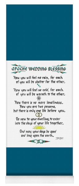 Apache Wedding Blessing Yoga Mat