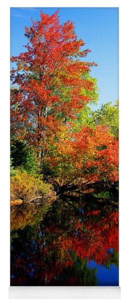 Autumn Splendor Yoga Mat