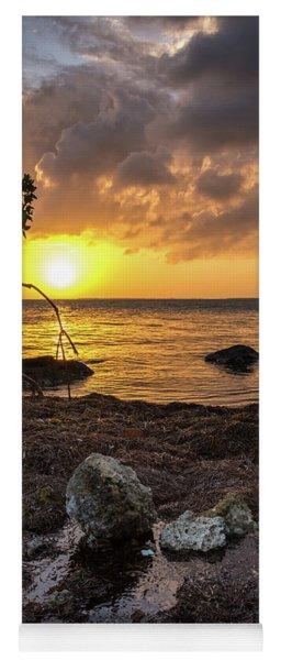 Bahia Honda Sunset Yoga Mat