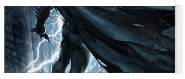 Batman The Dark Knight Returns 2012 Yoga Mat