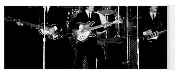 Beatles In Concert 1964 Yoga Mat