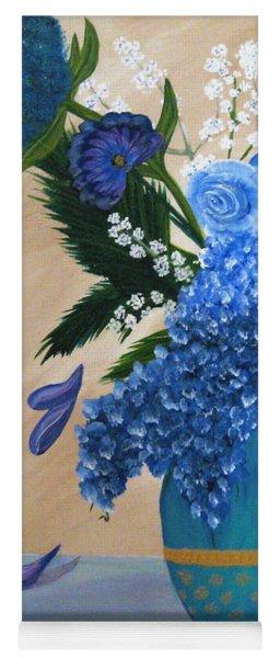 Blue Passion Yoga Mat