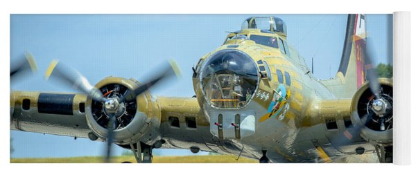 Boeing B-17g Flying Fortress   Yoga Mat