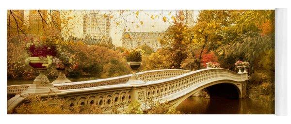 Bow Bridge Autumn Yoga Mat