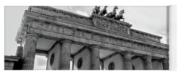 Brandenburg Gate - Berlin Yoga Mat
