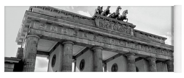 Brandenburg Gate - Berlin Yoga Mat
