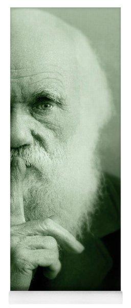 Charles Darwin Yoga Mat